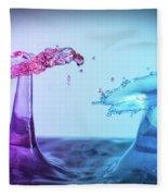 Water Drop 27 Fleece Blanket