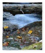 Water Falls Fleece Blanket