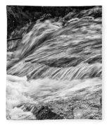 Water Flow Fleece Blanket