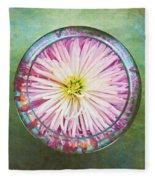 Water Flower Fleece Blanket