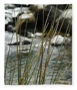 Water Flowing 1 Fleece Blanket