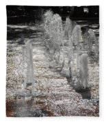 Water Fountain Fleece Blanket