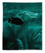 Water Horse Ballet Fleece Blanket