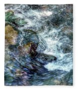 Water In Motion Fleece Blanket