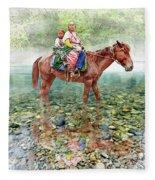 Water Is Life Fleece Blanket