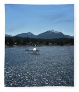 Water Landing Fleece Blanket