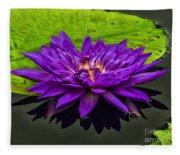 Water Lily 15-2 Fleece Blanket