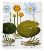 Water Lily, 1613 Fleece Blanket