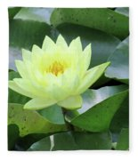 Water Lily - Burnin' Love 14 Fleece Blanket