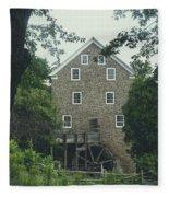 Water Mill Fleece Blanket