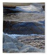 Water Ouzel, Middle Fork Kaweah River, Sequioa National Park Fleece Blanket