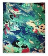Water Panda Fleece Blanket