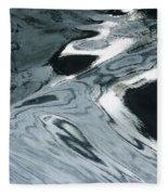 Water Patterns Fleece Blanket