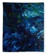 Water Reflections 1 Fleece Blanket
