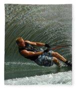 Water Skiing Magic Of Water 11 Fleece Blanket