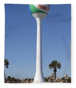 Water Tower - Pensacola Beach Florida Fleece Blanket