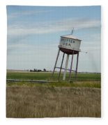 Water Tower Fleece Blanket