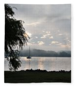 Water Tree Fleece Blanket