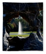 Water View Fleece Blanket