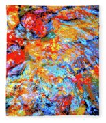 Water Whimsy 183 Fleece Blanket