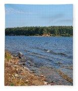 Water Wisp Fleece Blanket