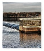 Water Works Gazebo Fleece Blanket
