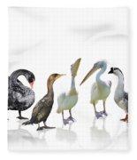 Waterbirds Fleece Blanket