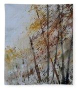 Watercolor 010104 Fleece Blanket