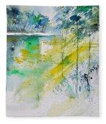 Watercolor 010105 Fleece Blanket