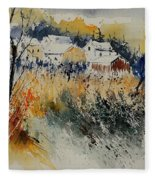 Watercolor  011071 Fleece Blanket