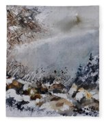 Watercolor 011120 Fleece Blanket