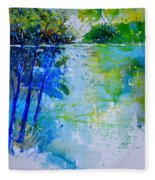 Watercolor 012112 Fleece Blanket