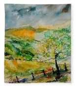 Watercolor 014091 Fleece Blanket