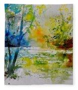 Watercolor 015003 Fleece Blanket