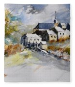 Watercolor 015022 Fleece Blanket