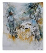 Watercolor 015060 Fleece Blanket