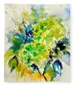 Watercolor 017050 Fleece Blanket