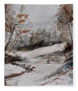 Watercolor 017051 Fleece Blanket