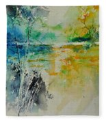 Watercolor 018080 Fleece Blanket