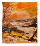 Watercolor 115011 Fleece Blanket