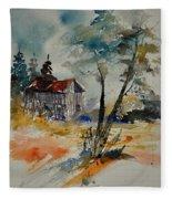 Watercolor 119070 Fleece Blanket