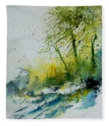 Watercolor 181207 Fleece Blanket