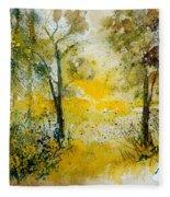 Watercolor 210108 Fleece Blanket