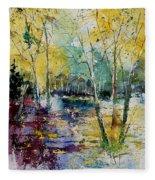 Watercolor 280809 Fleece Blanket