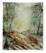 Watercolor  907013 Fleece Blanket