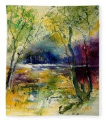 Watercolor  908010 Fleece Blanket