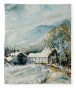 Watercolor Sechery 1207 Fleece Blanket