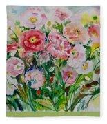 Watercolor Series No. 258 Fleece Blanket