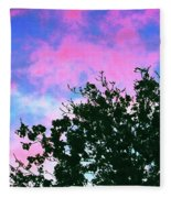 Watercolor Sky Fleece Blanket