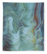 Waterfall Angel Fleece Blanket